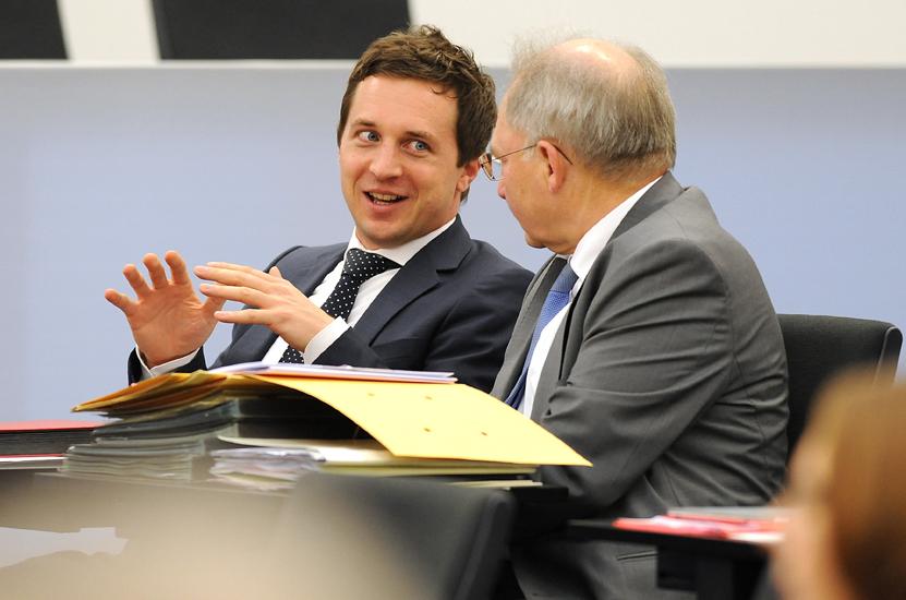 Im Gespräch mit dem SPD-Kollegen Peter Hofelich MdL aus dem Wahlkreis Göppingen