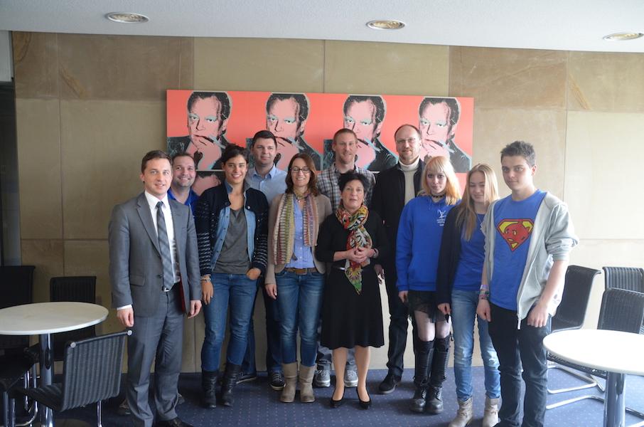 Besuchergruppe aus dem Wahlkreis zu Gast im Landtag