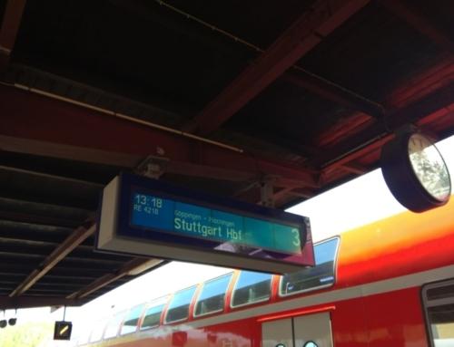 Spätes Ostergeschenk: Anzeigentafel am Geislinger Bahnhof funktioniert wieder