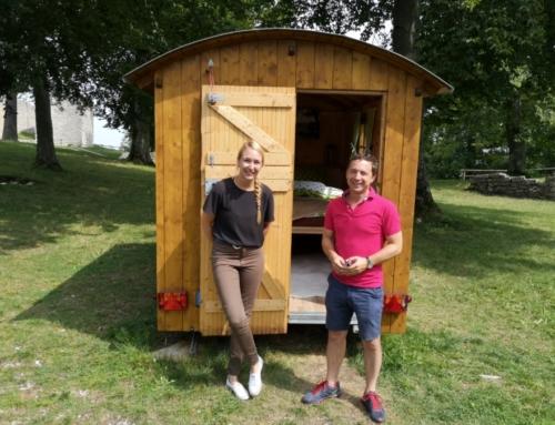 Binder besucht Geschäftsstelle der Erlebnisregion Schwäbischer Albtrauf