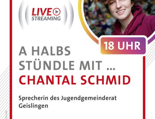 A halbs Stündle mit Chantal Schmid