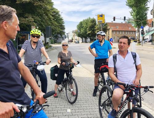Praxistest Radschnellweg – Sascha Binder und ADFC im Einsatz für bessere Radinfrastruktur